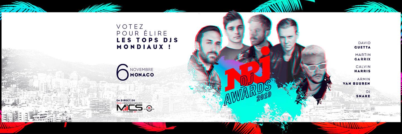 NRJ DJ Awards - header édition 2019