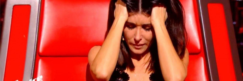 Jenifer - header - article en pleurs dans the voice