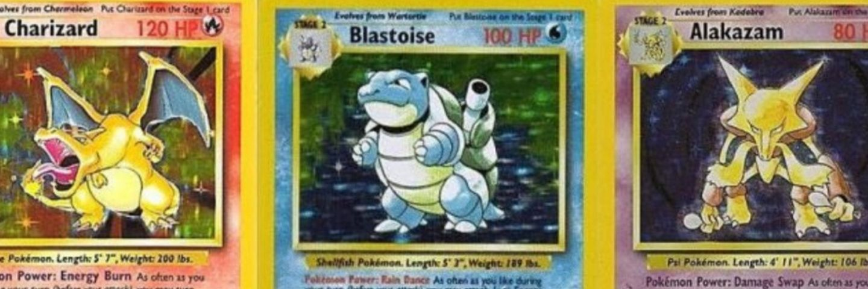 Nrj Belgique Vos Anciennes Cartes Pokemon Valent De L Or