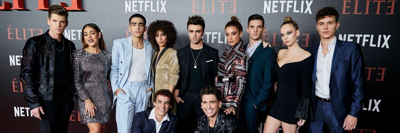 Les acteurs de la série Elite