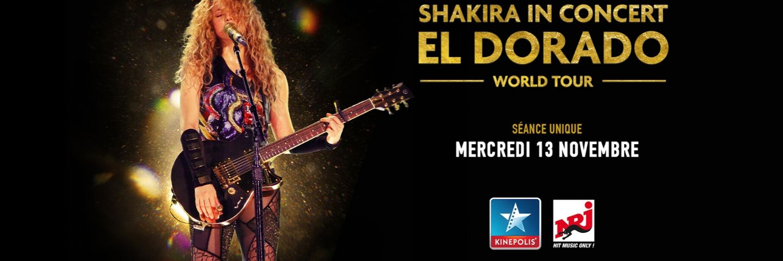 Shakira in concert Header