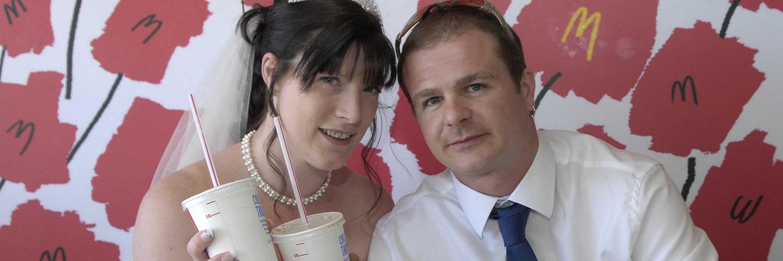 mariage mcdonald's