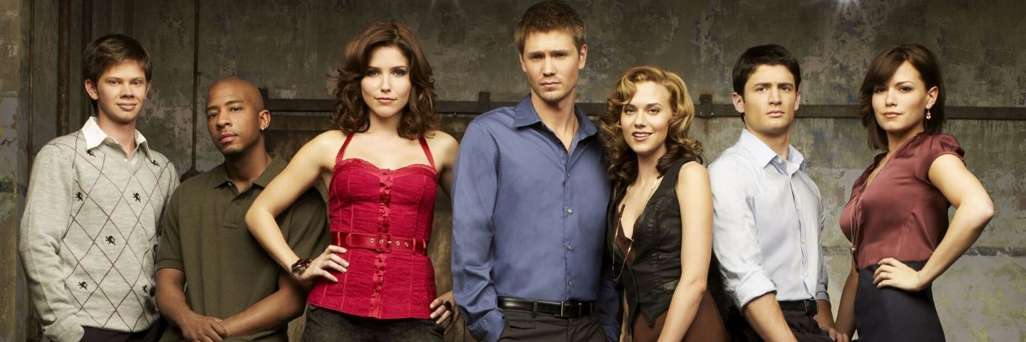 Les freres Scott One tree Hill