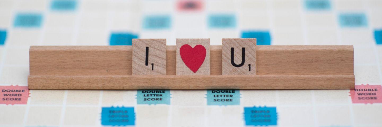Scrabble i love you