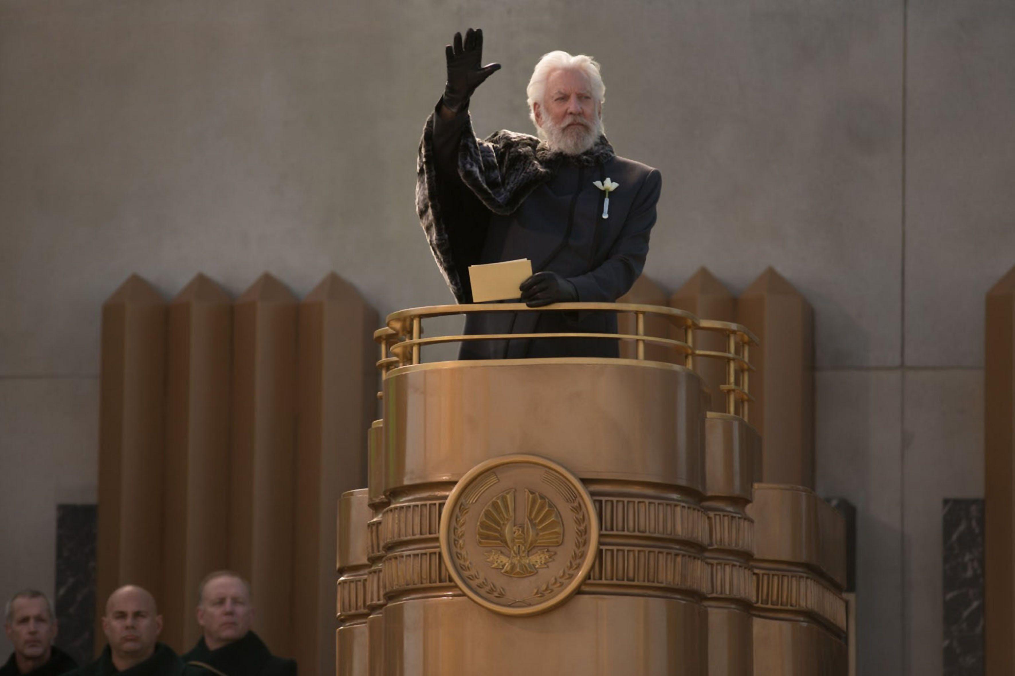 Hunger Games président