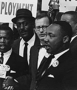 1963 marche de la liberté Martin Luther King