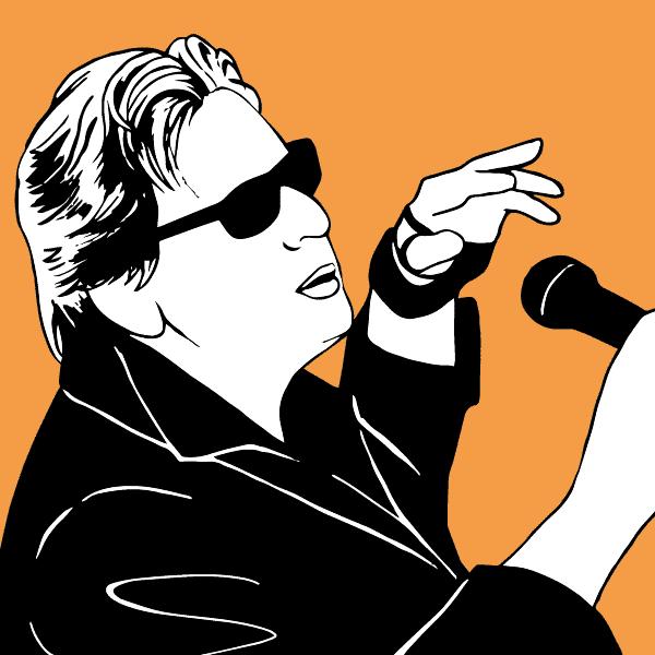 Alain Bashung - illustration