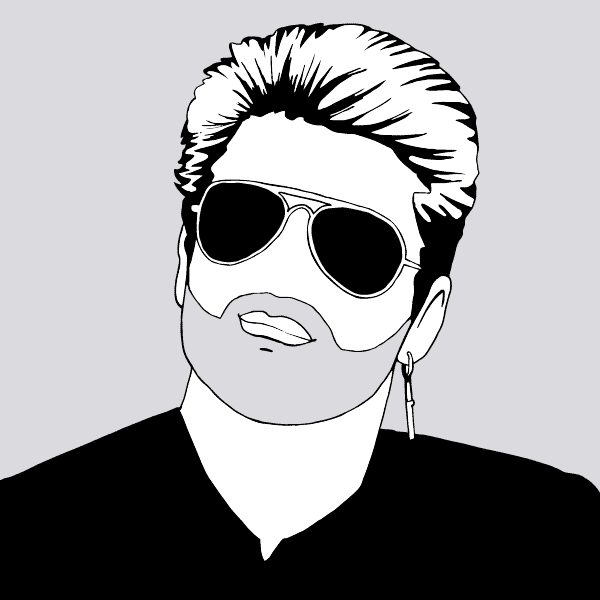 George Michael - illustration