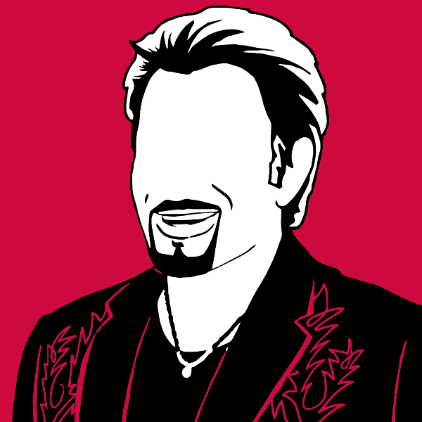 Johnny Hallyday - illustration