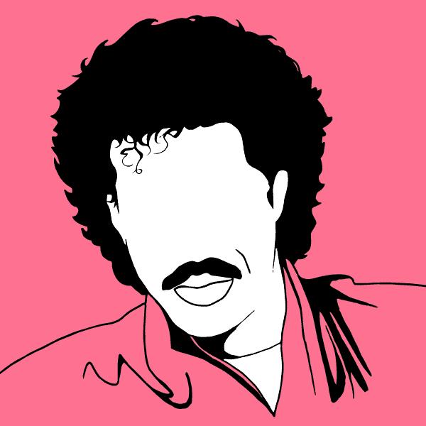Lionel Richie - illustration