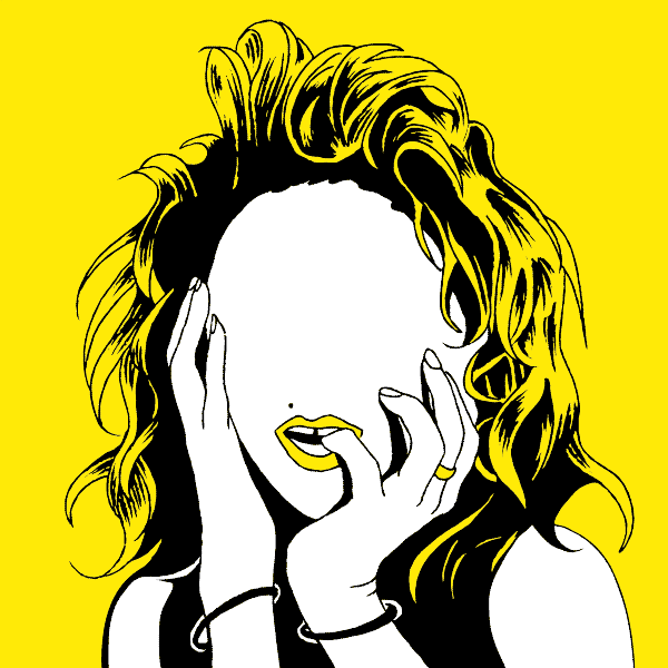Madonna - illustration