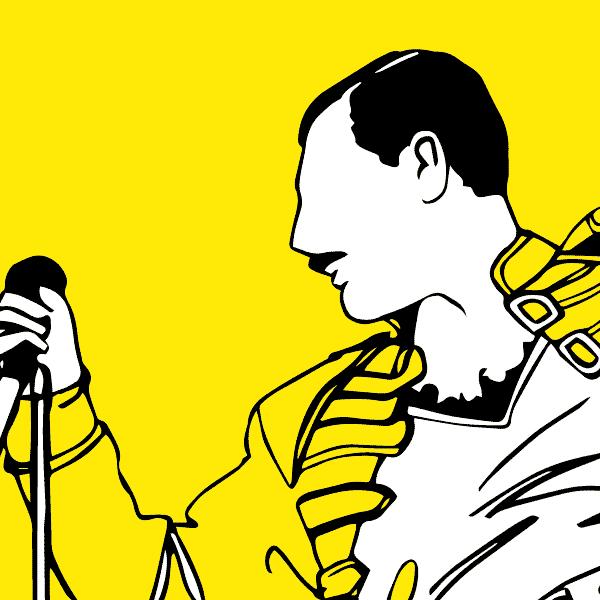 Queen - illustration