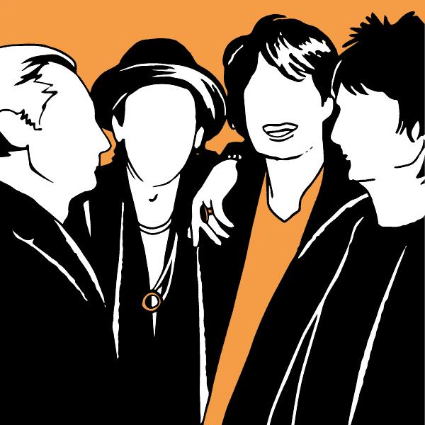 The Rolling Stones - illustration