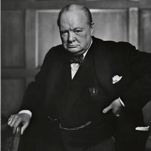 Décès de Winston Churchill