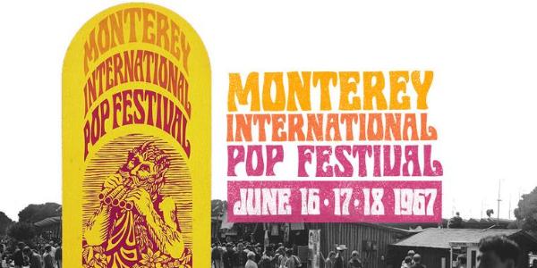 Premier Festival Pop/Rock à Monterey (USA)