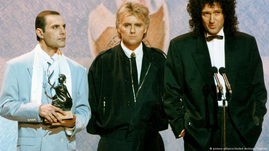 queen British Awards 1990