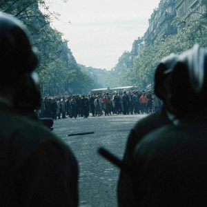 Émeutes à Paris, dans le Quartier Latin