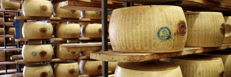 Production de fromages, Italie