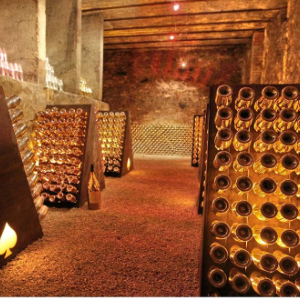 Cave à vin de Champagne