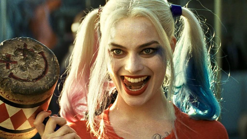 margot robbie dans le role de Harley Quinn