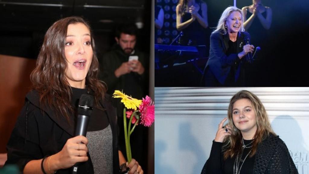 Louane, Véronique Sanson et  Laura Smet
