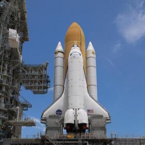 """Lancement de la navette spatiale  """"Discovery"""""""