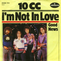 cover 10cc I'm not in love