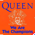 cover Queen We are the champions