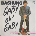 cover Alain Bashung Gaby oh Gaby