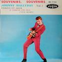 cover Johnny Hallyday Souvenirs, souvenirs