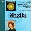 Sheila - Vous les copains, je ne vous oublierai jamais