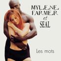 cover Mylène Farmer & Seal Les mots