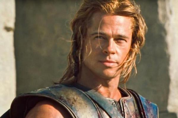 Brad Pitt dans troie