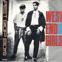 cover Pet Shop Boys West End Girls