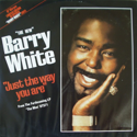 cover Barry White Just the Way You Are