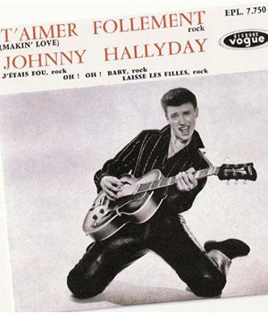1960 premier disque Johnny Hallyday