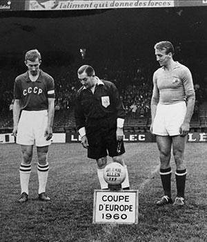 1960 premier championnat europe football carré