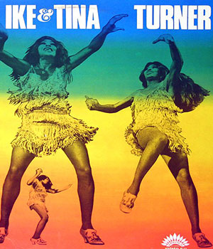 1960 formation du groupe Ike & Tina Turner - carré