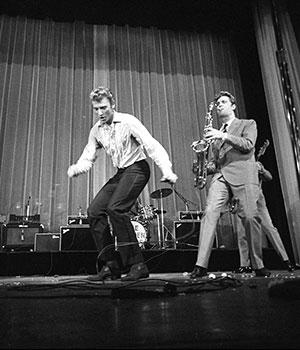 1961 premier concert de Johnny Hallyday à l'Olympia