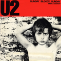 cover U2 Sunday Bloody Sunday