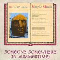 cover Simple Minds Someone Somewhere in Summertime