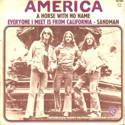 cover America A Horse with No Name