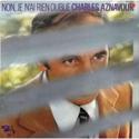 cover Charles Aznavour Non, je n'ai rien oublié