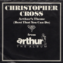 cover Christopher Cross Arthur's Theme (Best That You Can Do)