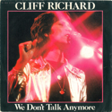 cover Cliff Richard We Don't Talk Anymore