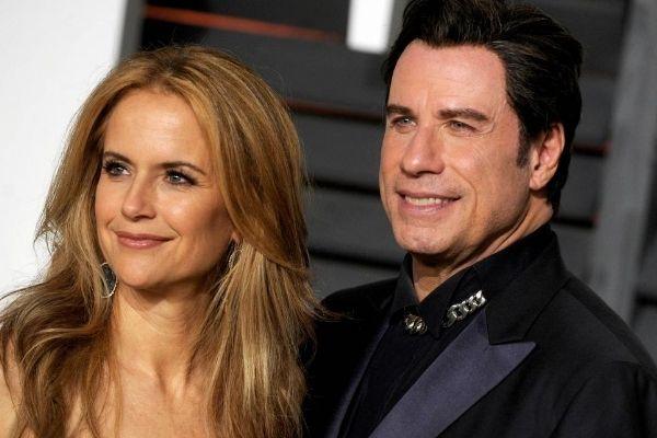 John Travolta et sa femme