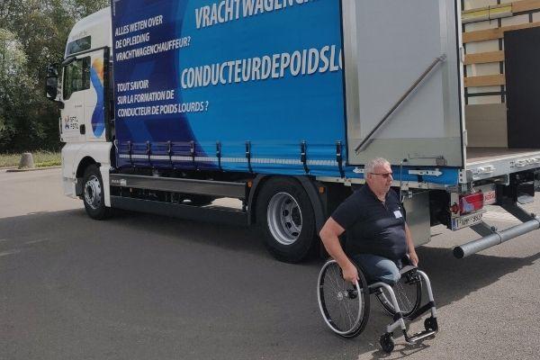 Fonds social transport et logistique Truck 2.0 PMR formation