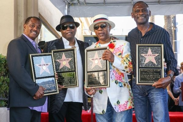 Kool and the Gang walk of fame