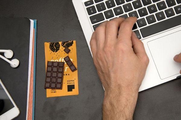 Coffee bar une tablette de café solide