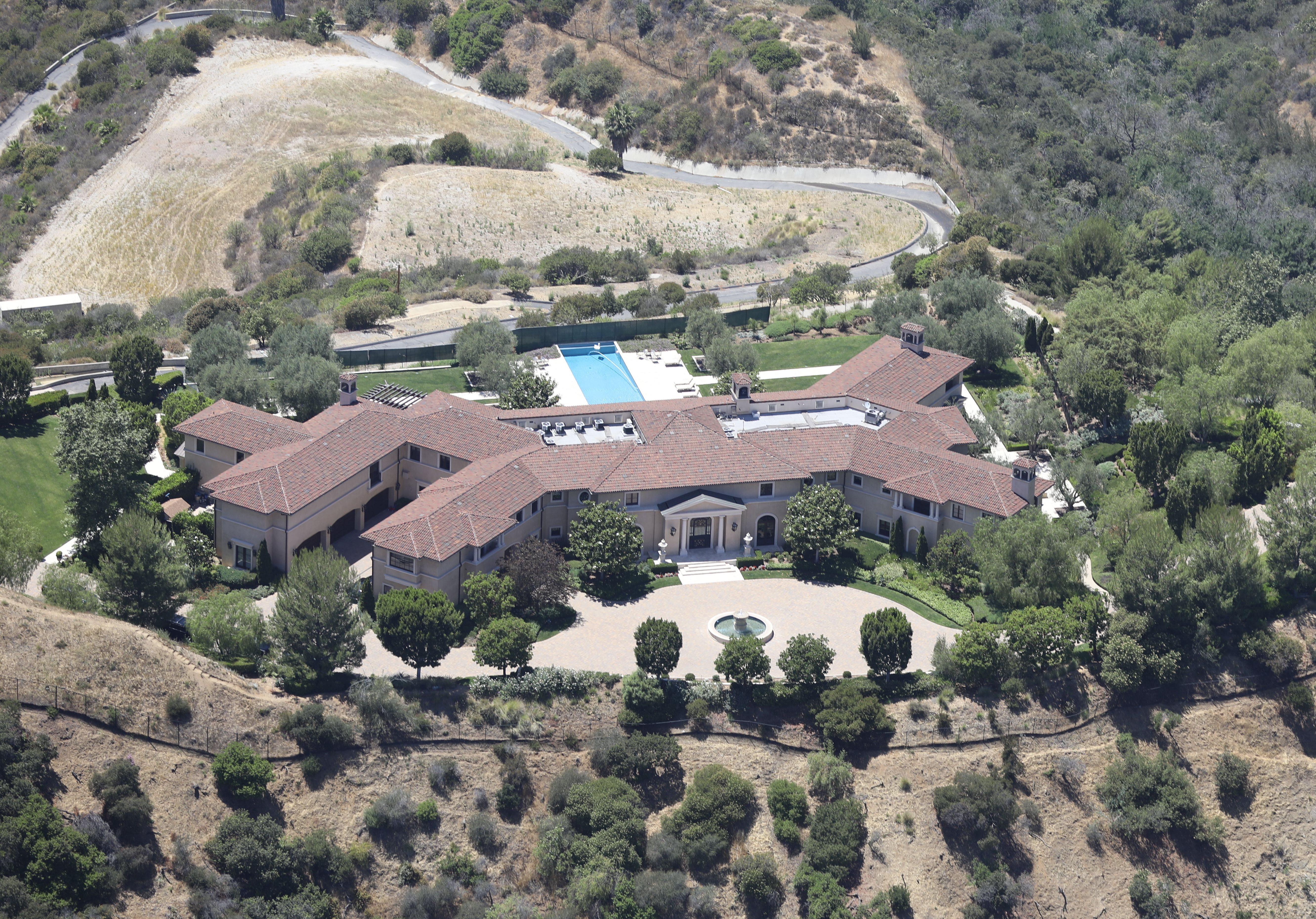 Maison Meghan Markle et Prince Harry Santa Barbara